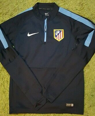 Atletico de Madrid player issue SWEATER match un worn trainning stuff shirt