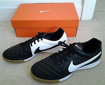 *NEW* Nike Tiempo Genio Leather IC Indoor Football Boots/Trainers Size UK 10