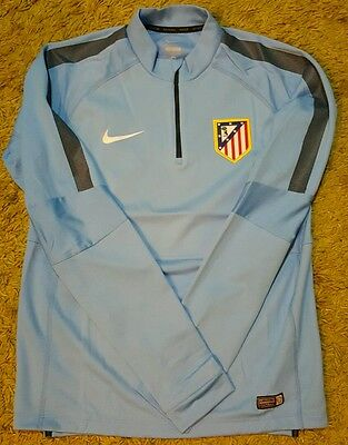Atletico de Madrid HALFZIP player issue trainning SWEATER match worn shirt stuff