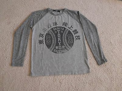 Rebel Grey Top,Age 12-13 years, Very Good Condition