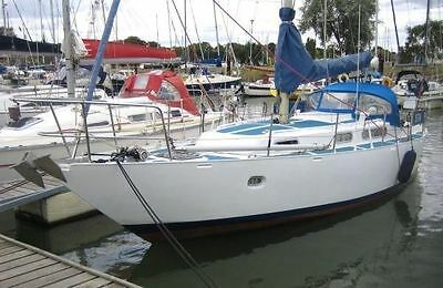 34ft Bruce Roberts Sailing Yacht Yard Built Good Condition Low hours