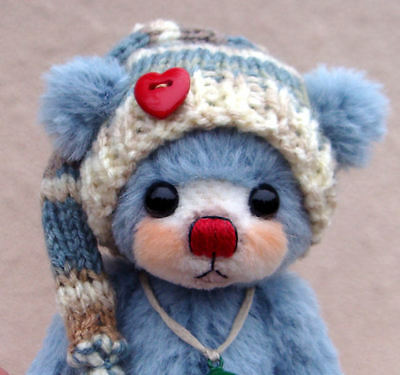 "Luciebears ""Scotty"" Small Artist Bear OOAK 6"""