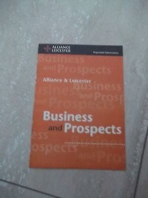 Alliance & Leicester  Business and Prospects.