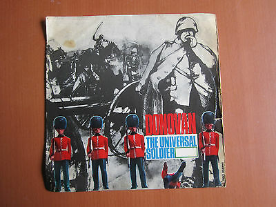 "7"" Single - The Universal Soldier EP, Donovan"