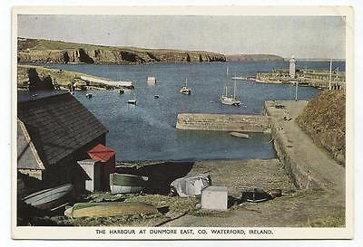 Ireland PPC The Harbour at Dunmore East, Co Waterford - PC Color card no 199