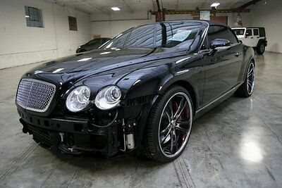 2007 Bentley Continental GT Convertible Luxury!! Loaded!! 2007 Bentley Continental GT Convertible Wrecked Project Loaded!! Must See!!
