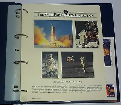 Mint  Westminster Collection Space Exploration Stamp/first Day Cover Album