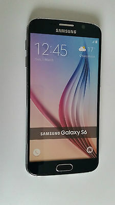 """☆ Samsung Galaxy S6 """"Black"""" ☆ Handy Dummy Attrappe ☆ No real mobile phone! ☆"""