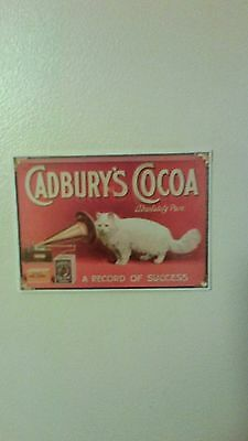 Cadbury's World Postcard Advertising Cocoa
