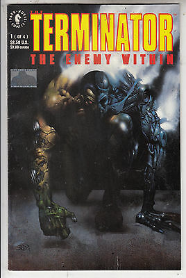 TERMINATOR ENEMY WITHIN  #1 of 4  FN+FN   1991   DARK HORSE ISSUE AMERICAN COMIC