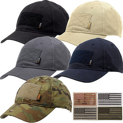 5.11 Flag Bearer Tactical Cap with Removable Flag Patch