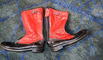 Vintage Motorcycle Boots  size 10