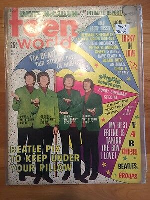 Teen World & Song Hits -BEATLES  many stars Unique RARE magazines  WOW.