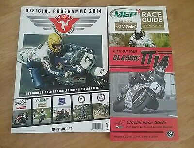 Isle of Man Manx Grand Prix 2014 Programme and Guides