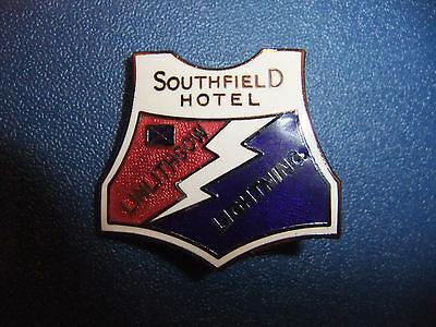 Linlithgow Speedway Badge (Rare).
