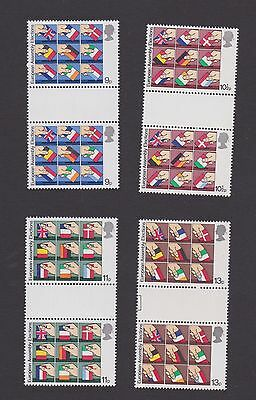 Stamps GB 1979 gutter pairs European Elections
