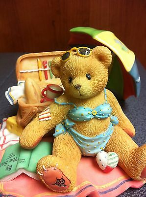 "Collectible 1996 Cherished Teddies Judy "" I Am Your Bathing Beauty """