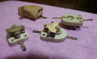 4 x Ceramic Trimmers - Unused. - Electronic Components Job Lot
