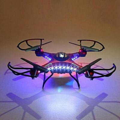 JJRC H8D 4CH 5.8G FPV RC Quadcopter Drone HD Camera Upgrade +Monitor +4X Battery