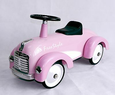 Speedster Freestyle Ride On Kids Car in Pink