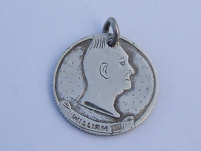 Engraved Coin - Double Heads William Iiii Sixpence , Silver