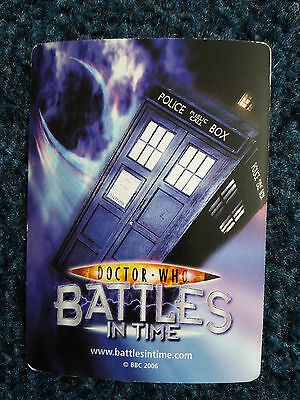 Doctor Who Battles in Time SUPER RARE CARDS