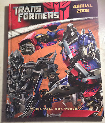 Transformer Annual 2008 - Used Book - Puzzles are unused - Fast Postage