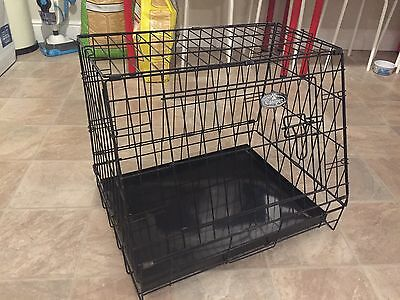 """Easipet 24"""" Sloping Folding Car Dog Puppy Pet Crate - Excellent Condition"""