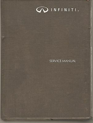 1993 Infiniti G20 Service Manual with Supplement Manual and OEM Binder