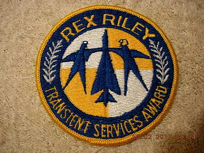 US Air Force Rex Riley Transient Services Award - Coloured