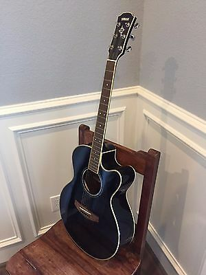 Yamaha CPX700 Acoustic/ Electric Guitar - Black