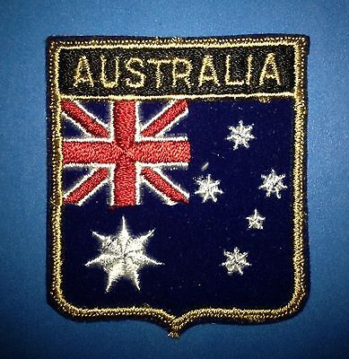 Australia Shield Flag Patch Jacket Biker Vest Backpack Travel Country Crest