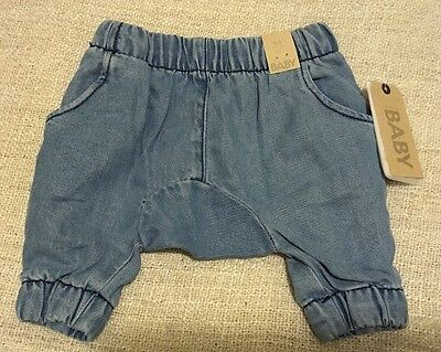 Bnwt! Cotton On Baby Boy Cuff Pants 0-3 Months