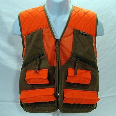Gamehide Upland Field Pheasant Vest Shooting Chestnut Orange Size Large