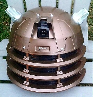 Authentic Bbc Dr Doctor Who Monster Dalek Costume Helmet Hat Mask Not Working!