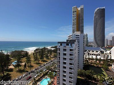 6 Night Gold Coast Luxury 2 Bedroom Beachfront Unit Broadbeach 11-17 Jan 2018