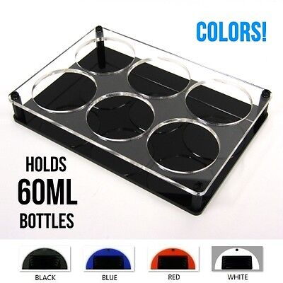 60ML BOTTLE HOLDER *COLORS* 1vape stand display organizer rack tray juice