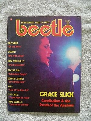 """Beetle Magazine """"Year of the KISS-off"""" 1974"""