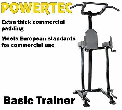 POWERTEC Basic Trainer P-BT13 Power Tower Chin Up Station Pull Up