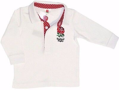 England Rfu Rugby Union Six Nations Babies Long Sleeved Baby Shirt World Cup