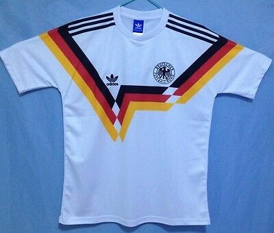 West Germany 1990  Shirt Large Deutschland World Cup Amazing Quality