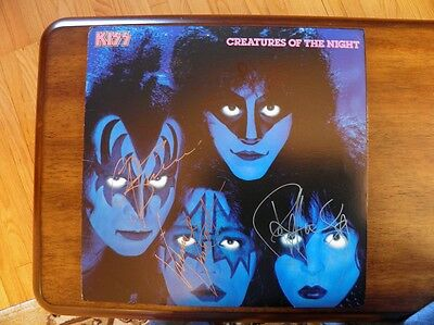 KISS-Creatures Of The Night-Autographed.