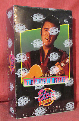 ELVIS PRESLEY The Cards Of His Life Sealed Box 1992 Series1 The Elvis Collection