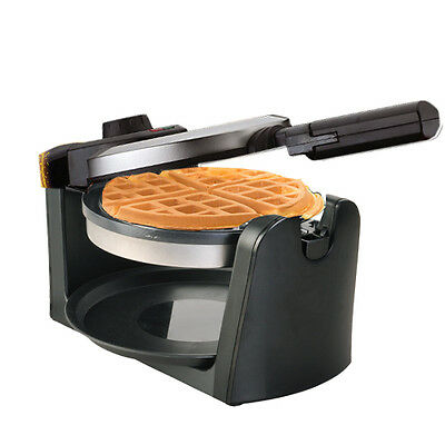 Toolrock 1000W Stainless Waffle Maker Nonstick Plate With Temperature Controller