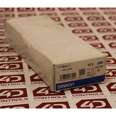 Omron WLCL-Y Snap Action Limit Switch, Rod Lever,, NO/NC, 500V - New Surplus ...