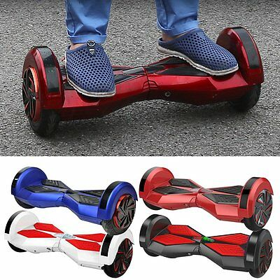"""8"""" LED Electric Scooter Self Balance Board 2 Wheels CE Certified Scooters New"""