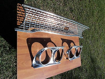 1963 Ford Galaxie Grille And Headlight Bezels Oem