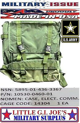 NEW US Military Issue Ranger Radio Bag Falcon II Military NSN: 5895-01-436-3367