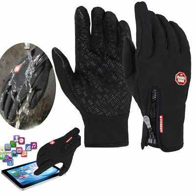 Unisex Winter Trendy Touch Screen Windproof Waterproof Outdoor Sport Gloves Lot
