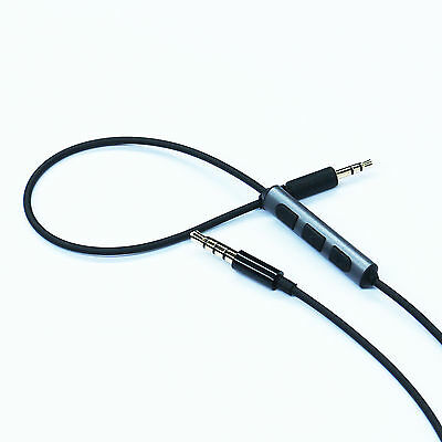 Cable Remote Mic for B&W Bowers & Wilkins P5 / P5 S2 headphone & iphone Android